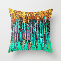 :: Party On and On :: Throw Pillow by GaleStorm Artworks