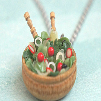 Salad Bowl Necklace