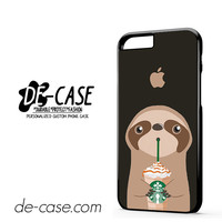 I Love Starbucks Sloth DEAL-5486 Apple Phonecase Cover For Iphone 6 / 6S