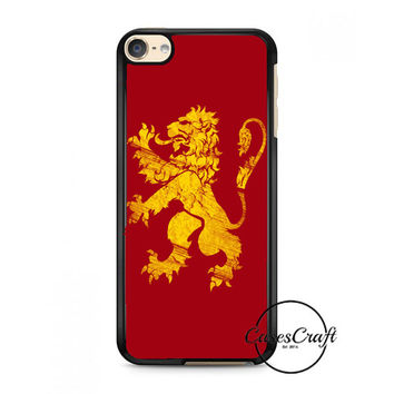 Lion Quote Bible Verse iPod Touch 6 Case