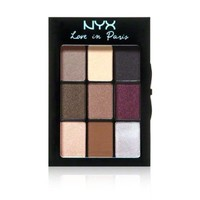 NYX Love In Paris Eye Shadow Palette 0.25 oz.