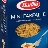 Barilla Mini Farfalle, 16 Ounce Boxes (Pack of 4)