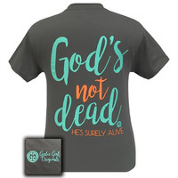 Girlie Girl Originals God's Not Dead Faith inspirational  T-Shirt