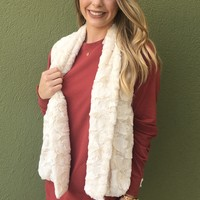 Brittany Fur Vest- Cream