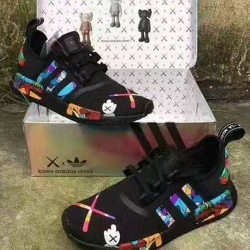 Adidas NMD x Kaws Fashion Women Breathable Running Sneakers Sport Shoes
