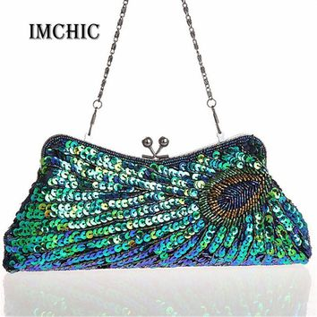 Clutches Evening Bag Vintage Beaded Bridal