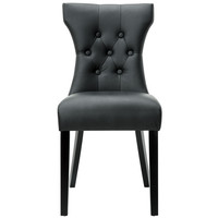 Silhouette Dining Side Chair in Black
