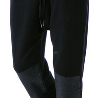 Kill City New Values Slouchy Sweatpants Black