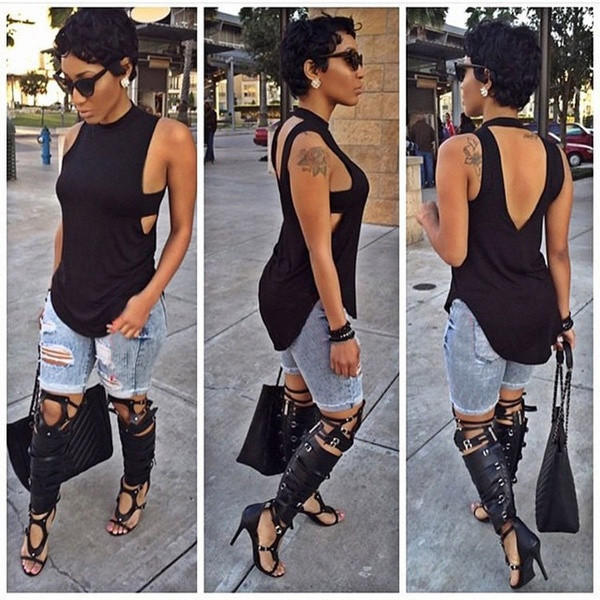 9681af8e6f4f Fashion Women Summer Vest Top Sleeveless from Pepper Berry