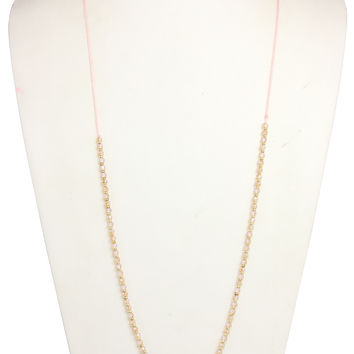 Sunset Skies Necklace-Peach