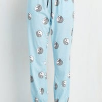 Mink Pink Cats Just Yangin' Out Pajama Pants