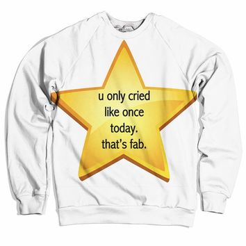 Cried Once Sweater