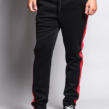 Slim Fit Striped Track Pants TR522 - S1C