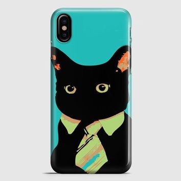 Cat Fish iPhone X Case
