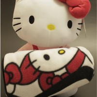 Hello Kitty Plush Doll & Blanket Set by Sanrio