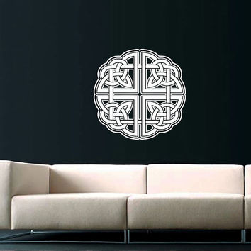 Celtic Knot Wall Decal Celtic Knot Decals Wall Vinyl Sticker Interior Home Decor Vinyl Art Wall Decor Bedroom Mural SV5969