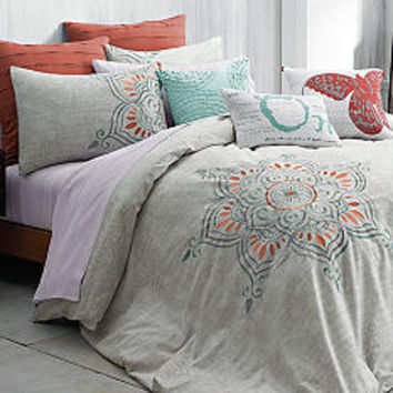 Under the Canopy® Under the Canopy® Co-Creator Bedding Collection, Eternity Decorative Pillow & Purity Blanket - Online Only