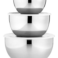Martha Stewart Collection Covered Stainless Steel Mixing Bowls, Set of 3, Only at Macy/s - Kitchen Gadgets - Kitchen - Macy's