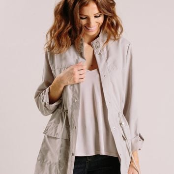 Aspen Lightweight Grey Jacket