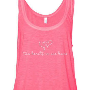 "Harry Styles ""Sweet Creature - Two Hearts in One Home"" Boxy, Cropped Tank Top"