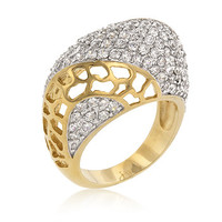 Victoria 18K Gold on Sterling Silver ring