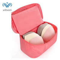 New Fashion Portable Underwear Cases Bra Organizer Waterproof Multifunction Cosmetics Bag Travel Bra Pouch Makeup Cases 2 Size