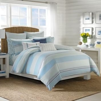 Nautica® Makay Reversible Comforter Set in Aqua