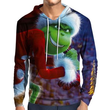 Grinch Stole Christmas Hoodie