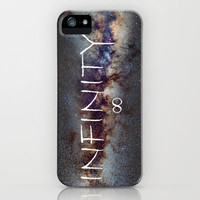 INFINITY STARS IN THE MILKY WAY ∞ iPhone Case by Guido Montañés | Society6