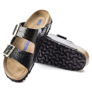Best Online Sale Birkenstock Arizona Soft Footbed Birko Flor Myda Night 1006609 Sandal