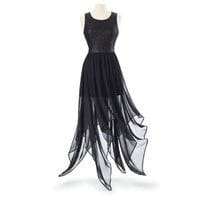 Handkerchief Hem Dress - Women's Clothing & Symbolic Jewelry – Sexy, Fantasy, Romantic Fashions