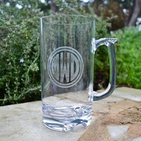 Personalized Tritan Plastic Beer Mugs - set of 6