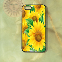 Sunflowers Painting -iPhone 5, 5c, 5s, 4s, 4, Samsung GS3, GS4, Ipod touch 4, 5 case-Silicone Rubber / Hard Plastic Case, Phone cover