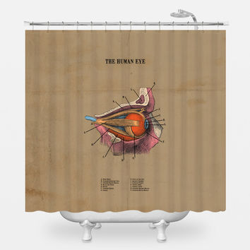 The Human Eye Shower Curtain