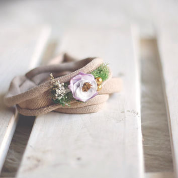 Into the Woods Headband - Newborn Photography prop, toddler photography prop, photography headband