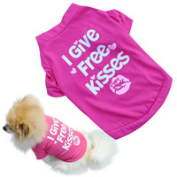 Spring Summer Pet Dog Clothes