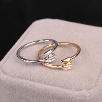 Jewelry New Arrival Gift Shiny Hot Sale Accessory Stylish Simple Design Geometric Alloy Ring [6573104007]