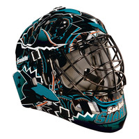 Franklin NHL Full-Size Mask - San Jose Sharks