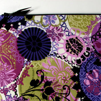 Laptop Case 15.6 Padded with Zipper in Purple Euphoria
