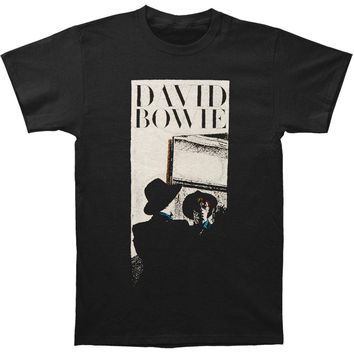 David Bowie Men's  Reflect T-shirt Black