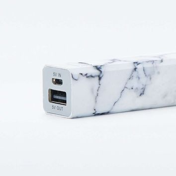 Portable Marble Phone Charger - Urban Outfitters