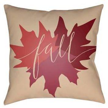 Fall Throw Pillow - Surya