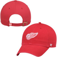 Detroit Red Wings '47 Brand Women's Clean Up Adjustable Hat – Red
