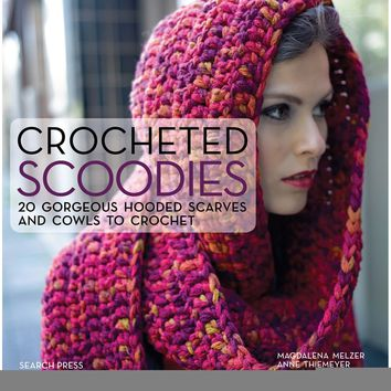 Search Press Books-Crocheted Scoodies