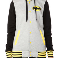DC Comics Batman Varsity Girls Hoodie | Hot Topic