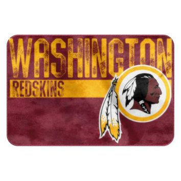 Washington Redskins NFL Worn Out Bath Mat