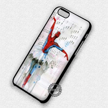 Spiderman Ballet Marvel - iPhone 7 6 5 SE Cases & Covers