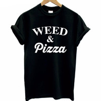 WEED & PIZZA T-shirt