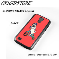 Pug Bicycle For Samsung Galaxy S4 Mini Case UY