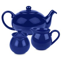 Waechtersbach Fun Factory 3-Piece Tea Set in Royal Blue